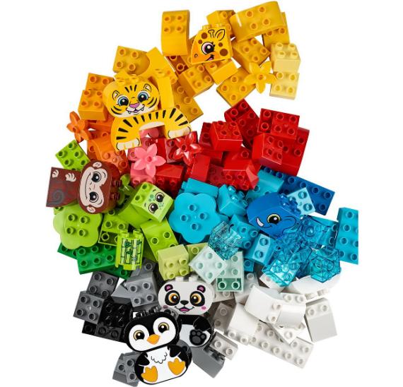 LEGO Duplo 10934 Zvířátka – kreativní sada