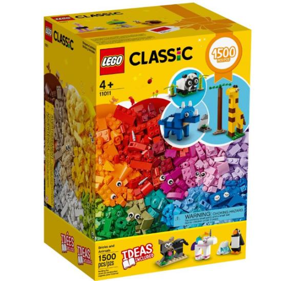 LEGO Classic 11011 Kostky a zvířátka