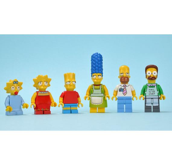 LEGO 71006 The Simpsons™ House celá rodina