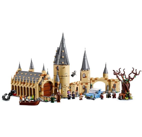 Lego Harry Potter 75953 Bradavická vrba mlátička   - detail 1