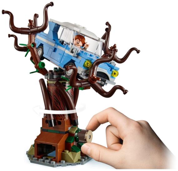 Lego Harry Potter 75953 Bradavická vrba mlátička   - detail 3