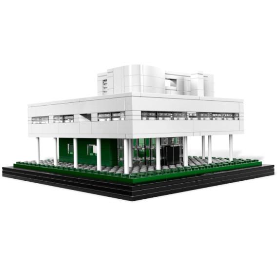 LEGO 21014  Villa Savoye stavba