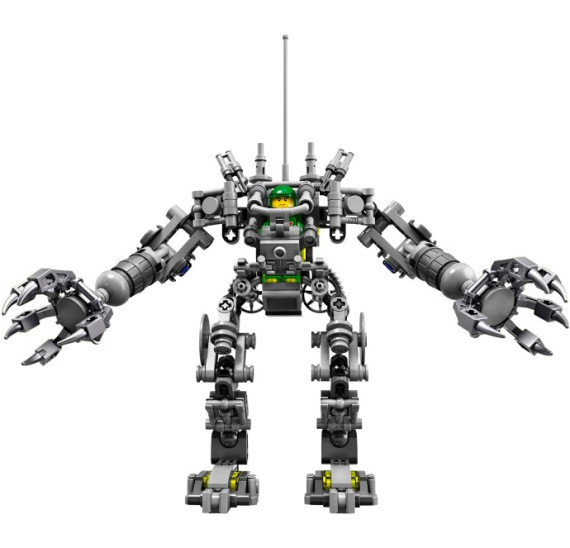 LEGO Ideas 21109 Exo Suit robot