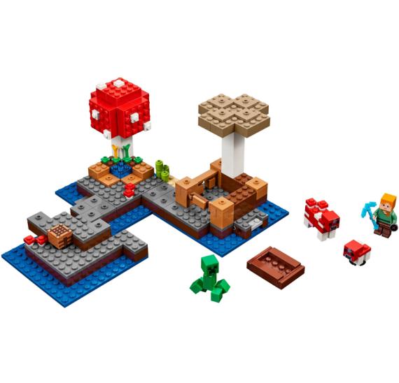 Lego Minecraft 21129 Ostrov hub - detail