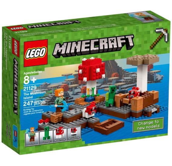 Lego Minecraft 21129 Ostrov hub - balení