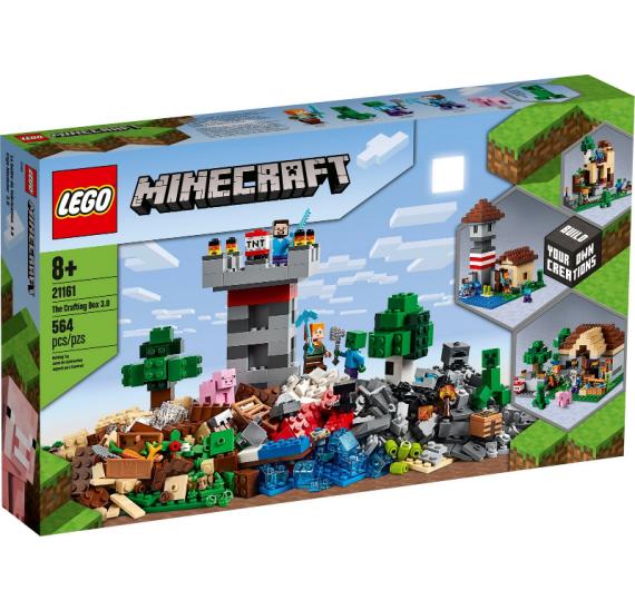 Lego Minecraft 21161 Kreativní box 3.0