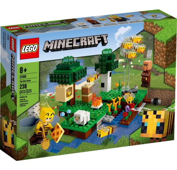 LEGO Minecraft 21165 Včelí farma