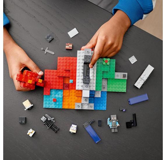 LEGO® Minecraft™ 21172 Zničený portál