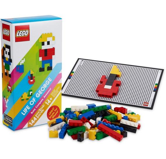 LEGO  21200 LIFE OF GEORGE obal a obsah