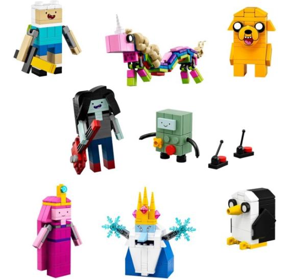 Lego Ideas 21308 Adventure Time - detail
