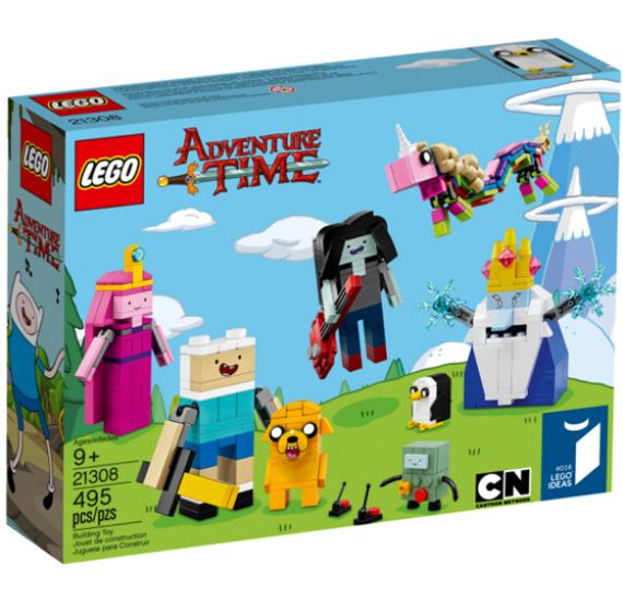 Lego Ideas 21308 Adventure Time - balení