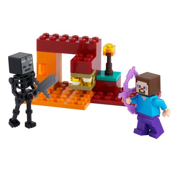 LEGO Minecraft 30331 Souboj v dole (polybag)