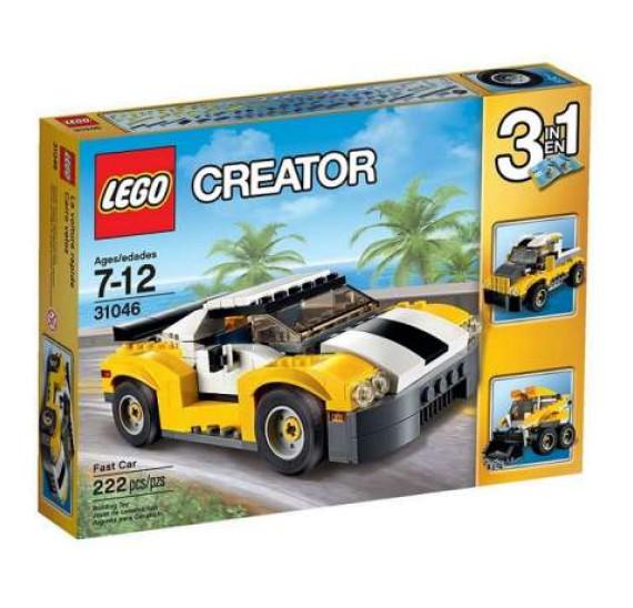 Lego Creator 31046 Rychlé auto - celé balení