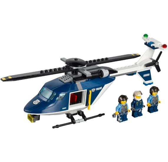 Lego City 60009 Zásah policejní helikoptéry
