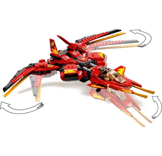 LEGO Ninjago 71704 Kaiov letún