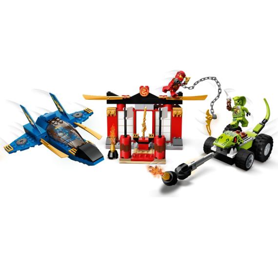 LEGO Ninjago 71703 Bitva s bouřkovým štítem