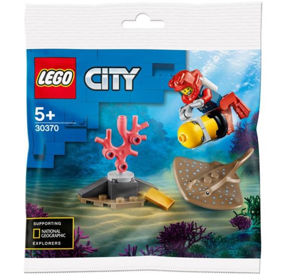 LEGO City 30370 Potápěč (polybag)
