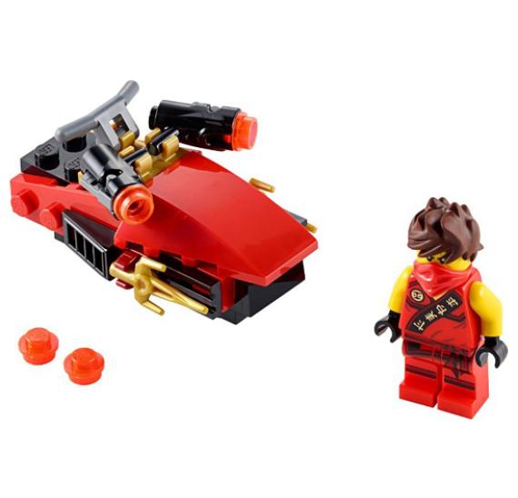 Lego Ninjago 30293 Kai Drifter - detail