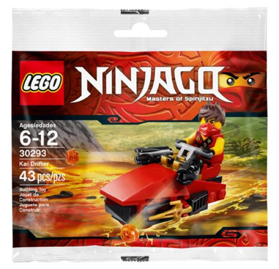 Lego Ninjago 30293 Kai Drifter - balení