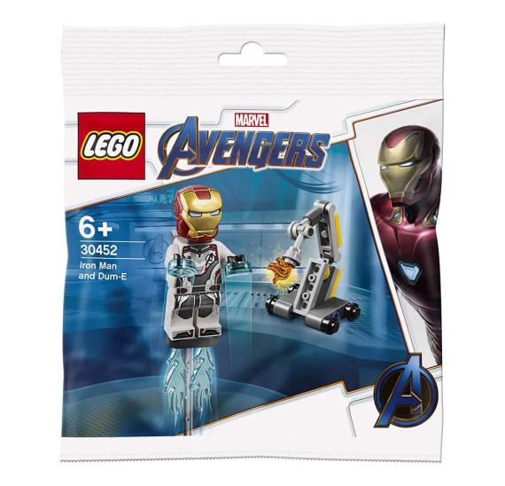 LEGO 30452 Iron Man a Dum-E (polybag)
