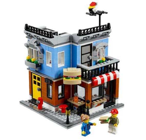 Lego Creator 31050 Občerstvení na rohu - detail