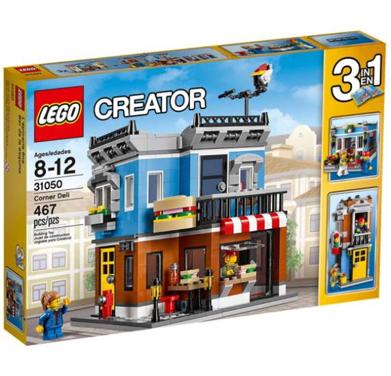 Lego Creator 31050 Občerstvení na rohu - balení