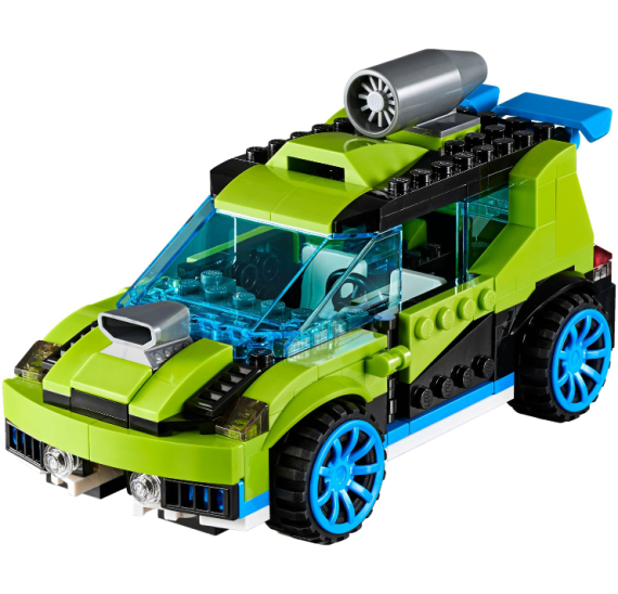 Lego Creator 31074 Závodní auto . detail