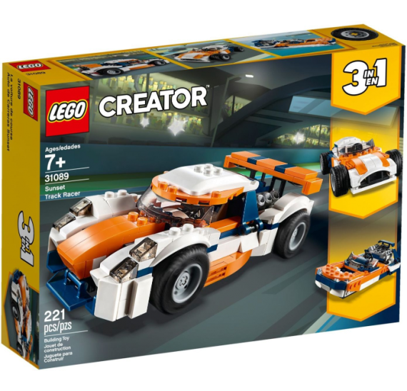 Lego Creator 31089 Závodní model Sunset