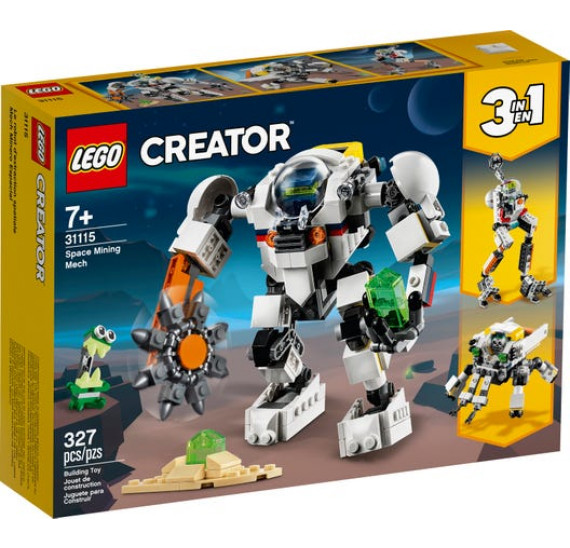 LEGO Creator 31115 Vesmírný těžební robot