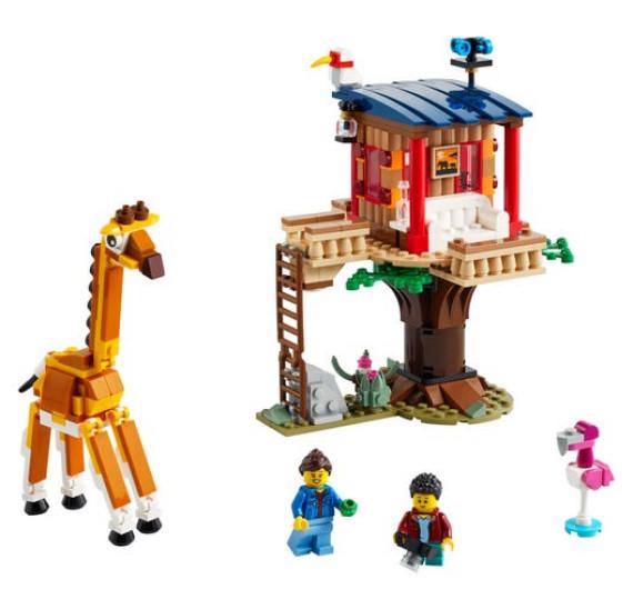 LEGO Creator 31116 Safari a domek na stromě