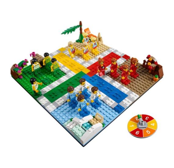 LEGO 40198 Člověče, nezlob se ! - detail
