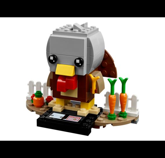LEGO BrickHeadz 40273 Krocan ke Dni díkůvzdání - detal
