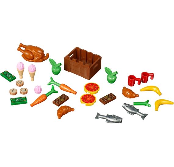 LEGO XTRA 40309 Doplňkové dílky – Jídlo - detail