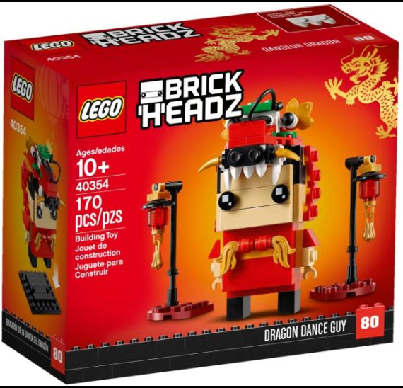 LEGO BrickHeadz 40354 Dračí tanečník - balení