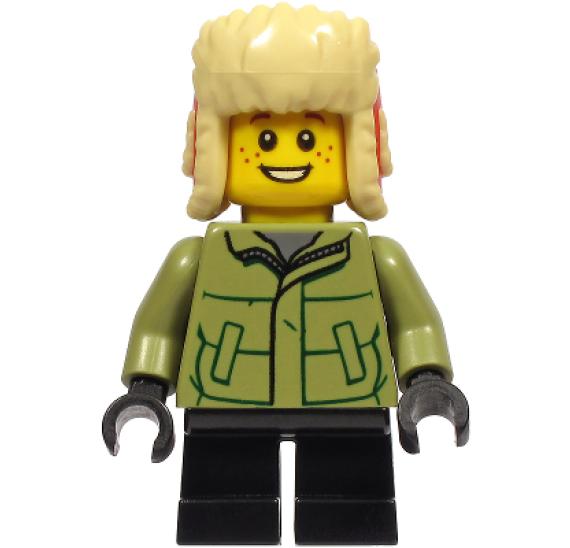 LEGO BrickHeadz40424 Zimní koulovačka