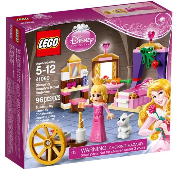 LEGO  41060 Disney Princezny Královská komnata Šípkové Růženky obal