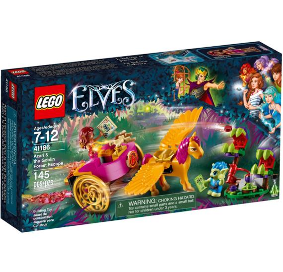 Lego Elves 41186 Azari a útěk ze Skřetího lesa - balení
