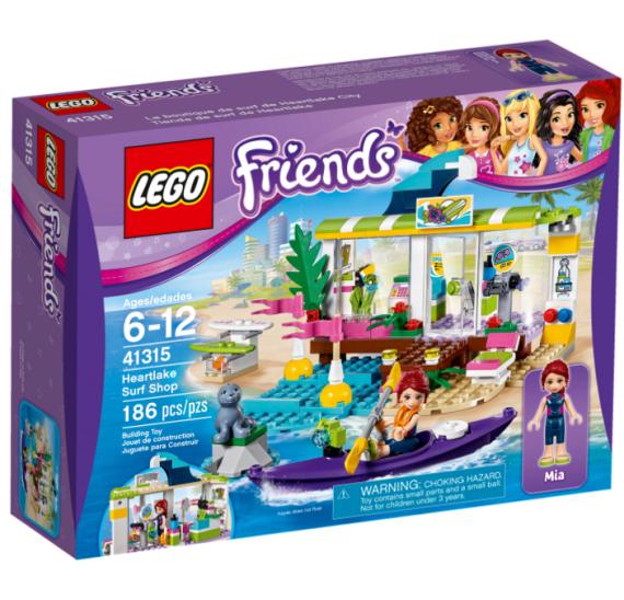 Lego Friends 41315 Surfařské potřeby v Heartlake - balení
