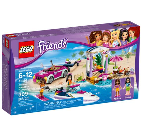 Lego Friends 41316 Andrein vuz s privesem pro clun - baleni