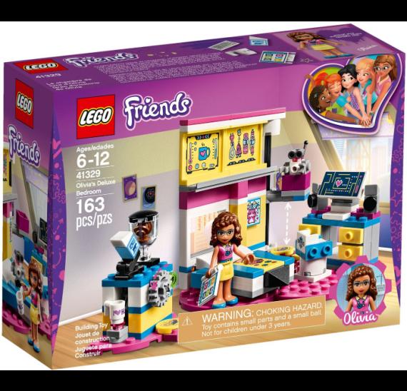 Lego Friends 41329 Olivia a její luxusní ložnice - balení