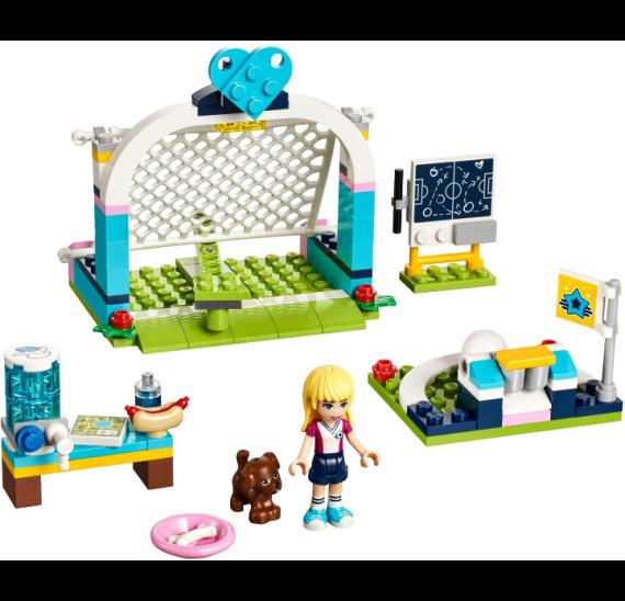 Lego Friends 41330 Stephanie na fotbalovém tréninku  - detail
