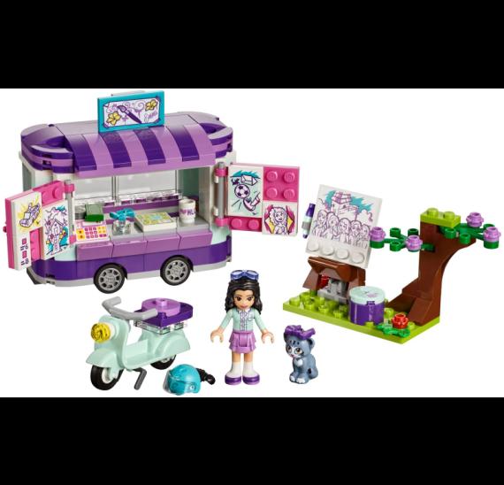 Lego Friends 41332 Emma a umělecký stojan - detail