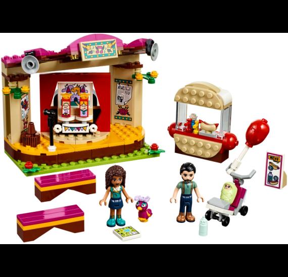 Lego Friends 41334 Andrea a její vystoupení v parku - detail