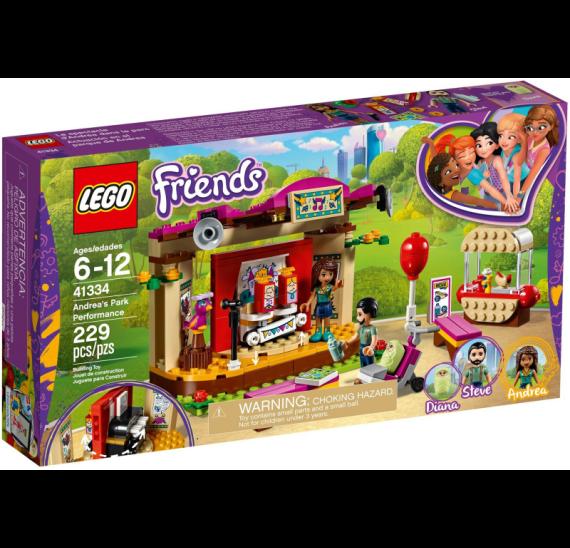 Lego Friends 41334 Andrea a její vystoupení v parku - baleni