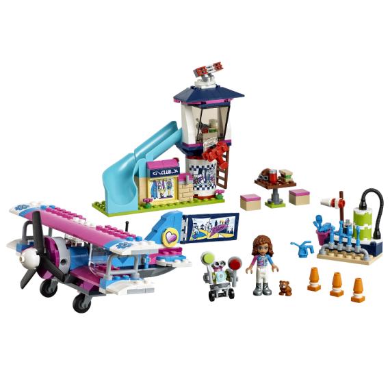 LEGO Friends 41343 Vyhlídkový let nad městečkem Heartlake -. detail