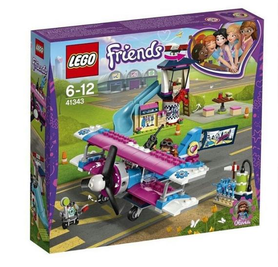 LEGO Friends 41343 Vyhlídkový let nad městečkem Heartlake - balení