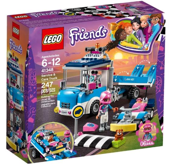 LEGO Friends 41348 Servisní vůz - balení