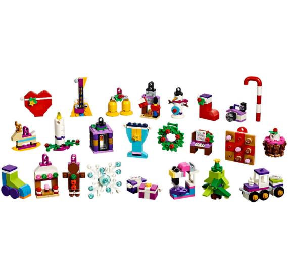 Lego Friends Adventní kalendář Lego41353 - detail