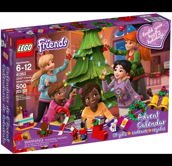 Lego Friends Adventní kalendář Lego41353 - baleni