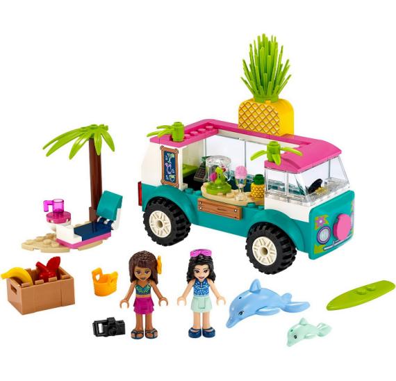 LEGO FRIENDS 41397 Pojízdný džusový bar - detail